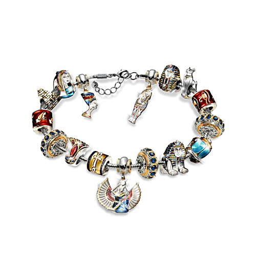 'Ultimate Treasures Of Egypt' Charm Bracelet