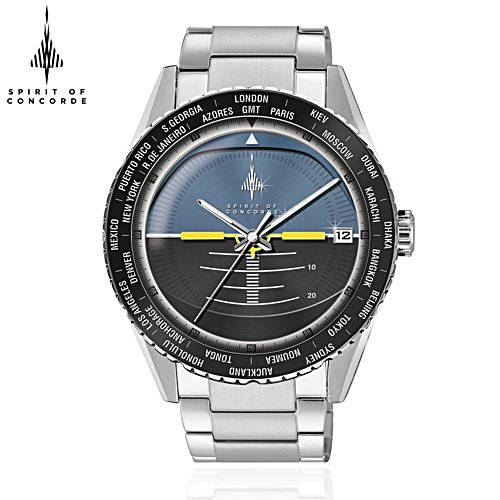 50th Anniversary 'Spirit Of Concorde' Horizon Men's Watch