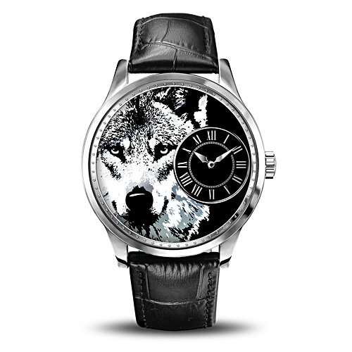 'Alpha Wolf' Men's Watch