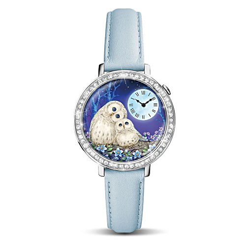 Kayomi Harai 'Always By Your Side' Owl Ladies' Watch