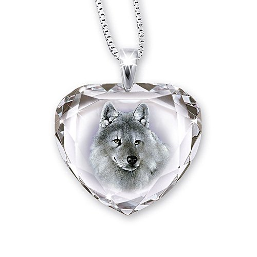 'Silver Scout' Wolf Pendant