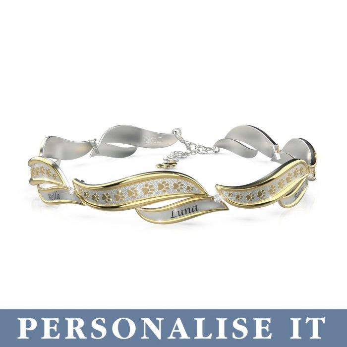 'Faithful Companions' Personalised Bracelet