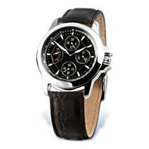 'My Son, My Pride' Leather Chronograph