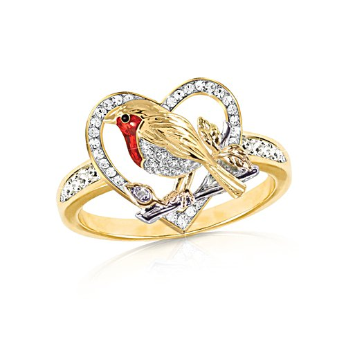 'Jewel Of Nature' Robin Diamond Ring