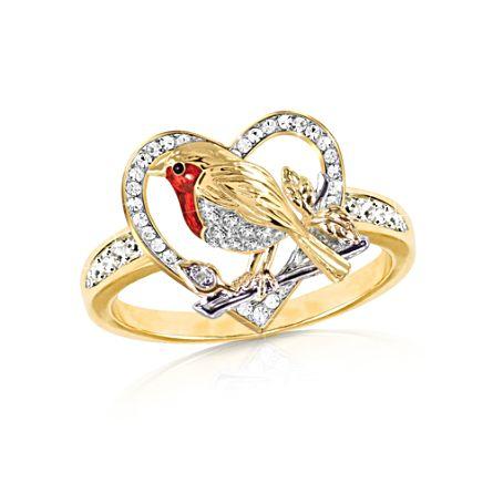 'Jewel Of Nature' Diamond Ring