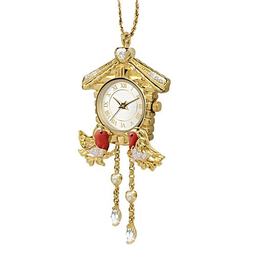 'Timeless Elegance' Robin Watch Pendant