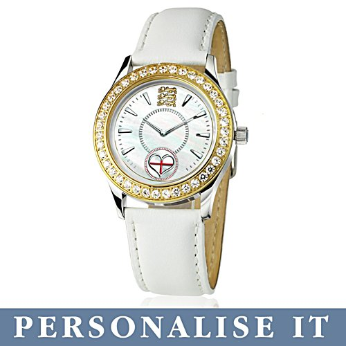 'Forever England' Personalised Ladies Watch