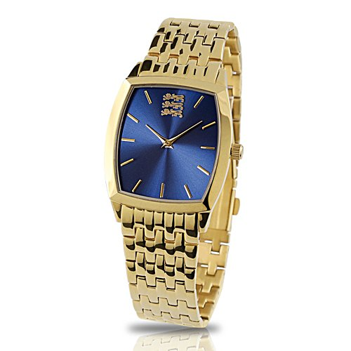 'Pride Of England' Men's Gold-Plated Watch