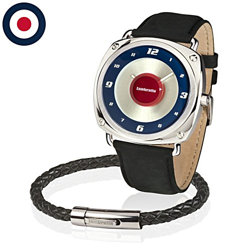 'Lambretta Men's Watch & Wristband Set'