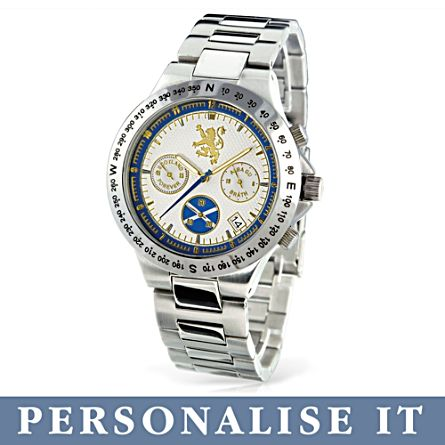 'Scotland Forever' Men's Personalised Chronograph