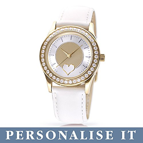 'My Daughter, I Wish You' Personalised Ladies Watch
