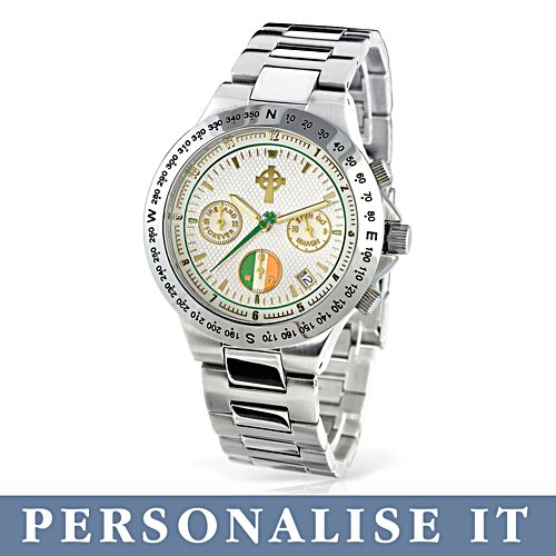 'Forever Ireland' Personalised Chronograph