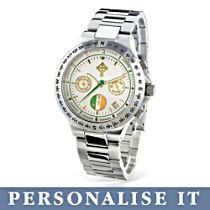 'Forever Ireland' Personalised Chronograph