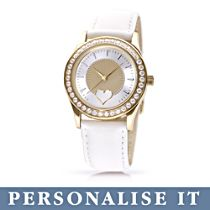 'My Granddaughter, I Wish You' Personalised Gold-Plated Watch