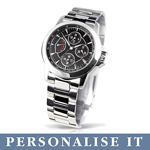 'My Son, My Pride' Personalised Stainless Steel Watch