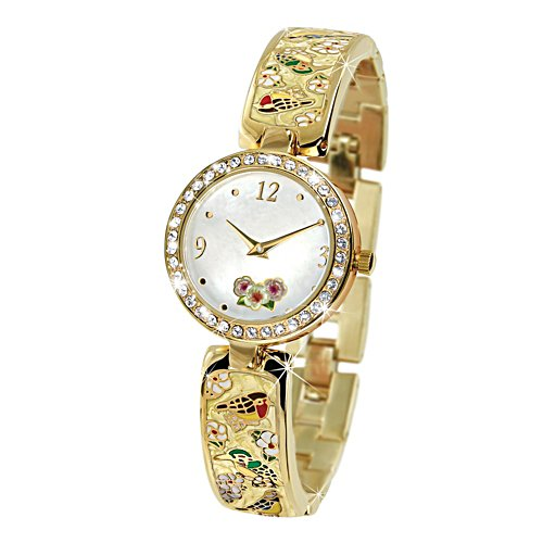 'Tranquil Garden Treasures' Ladies Watch