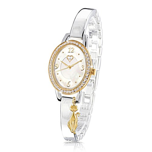Diamond 'Purrfection' Ladies Watch