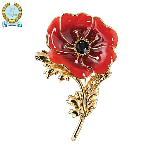 'Flanders Fields' Poppy Brooch