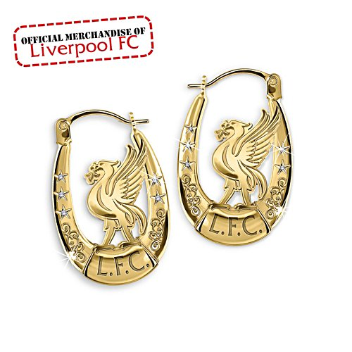 Liverpool FC Liver Bird Ladies' Earrings