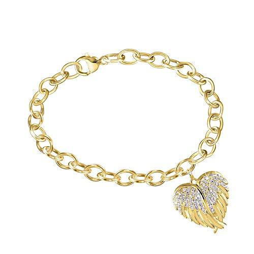 Beskyddande Himlavingar Diamantarmband