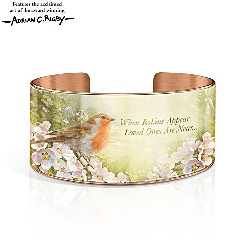 'Messenger Of Love' Solid Copper Cuff Bracelet