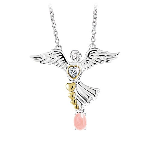 'Always With You' Guardian Angel Pendant