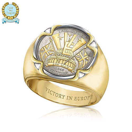 'Victory In Europe' 75th Anniversary Men's Ring