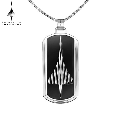 50th Anniversary MACH 2 'Spirit Of Concorde' Men's Pendant