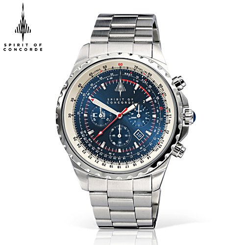'The Spirit Of Concorde' Men's Chronograph Watch