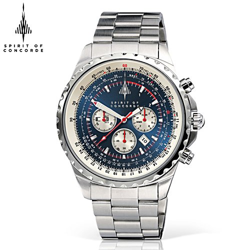 50th Anniversary 'Spirit Of Concorde' Chronograph Watch