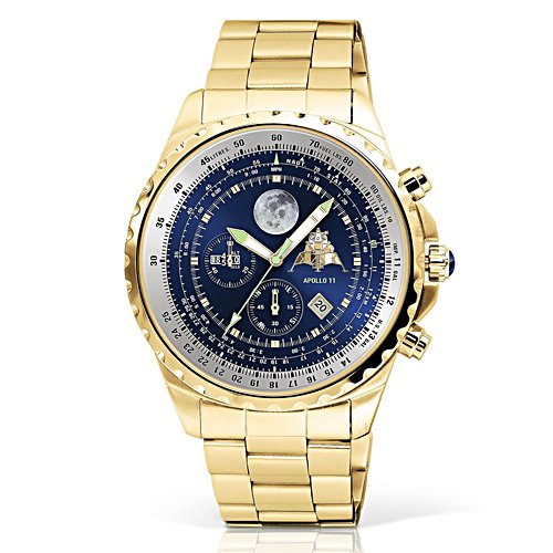 Apollo 11 Gold-Plated Chronograph Watch