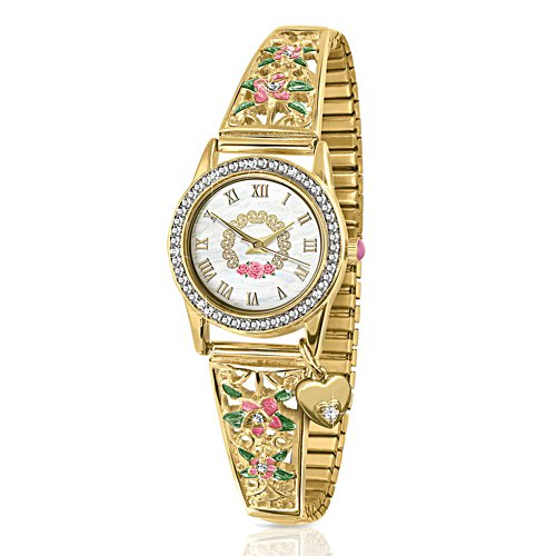 Princess Diana Ladies Stretch Charm Watch