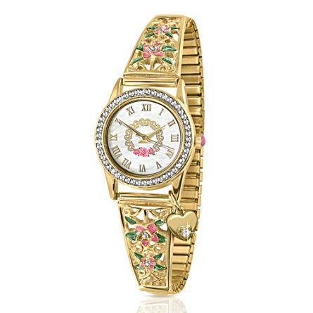 Princess Diana Ladies Stretch Charm Watch