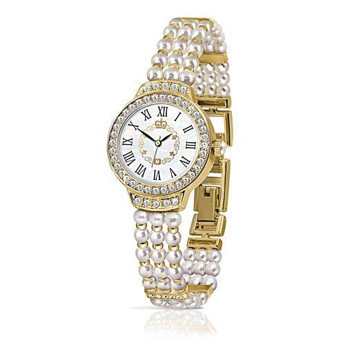 Queen Elizabeth II Pearl Watch