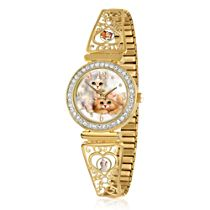 'Cats Leave Pawprints On Our Hearts' Jürgen Scholz Stretch Watch