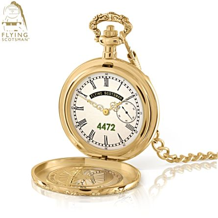 The Official Flying Scotsman 100mph World Record Pocket Watch