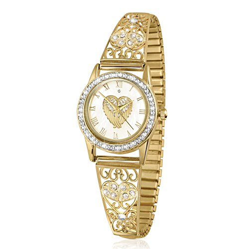'Guardian Angel Embrace' Diamond Ladies' Watch
