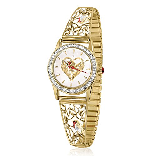 'Messenger Of Love' Ladies' Diamond Stretch Watch