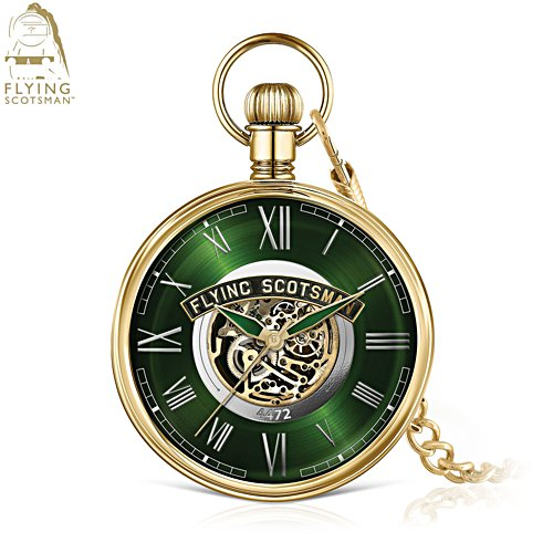 Flying Scotsman Mechanical Limited Edition Pocket Watch