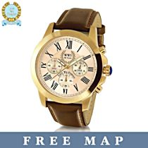 100th Anniversary WWI Commemorative Men's Watch And FREE Map