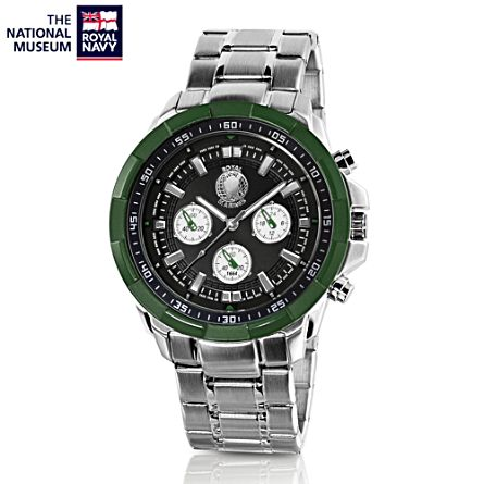 'Royal Marines By Sea, By Land' Chronograph