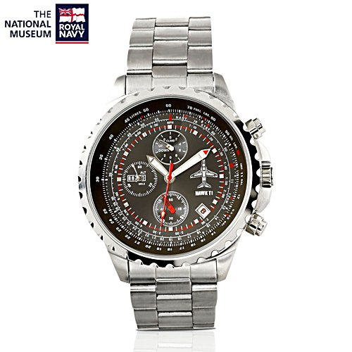 'Hawk T1 Mach 1.2' Aviation Limited Chronograph Watch