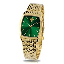 'Pride Of Ireland' Gold-Plated Men's Watch
