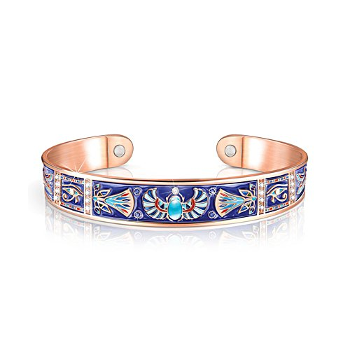 'Treasures Of Egypt' Copper Touch Bracelet