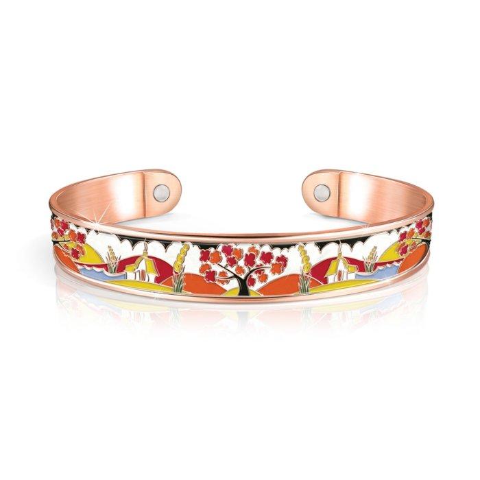 Clarice Cliff Copper Touch Bracelet