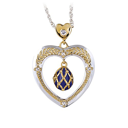 'Secrets Of The Heart' Fabergé-Inspired Pendant