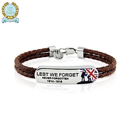 100th Anniversary WWI Commemorative Men's Wristband