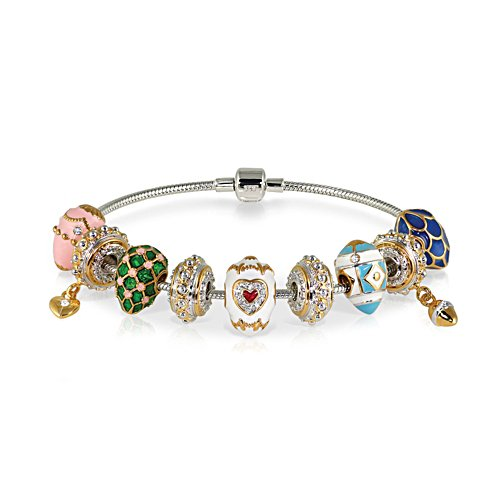 'Treasures Of Love' Fabergé-Inspired Charm Bracelet