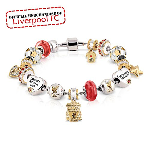 Liverpool FC Ladies Beaded Bracelet