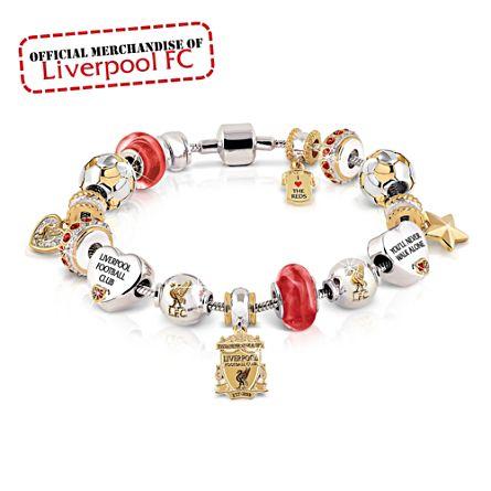 Liverpool FC Ladies Beaded Bracelet
